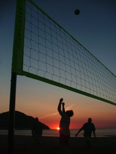 Blackbrook Volleyball Club at Minehead 2005.jpg